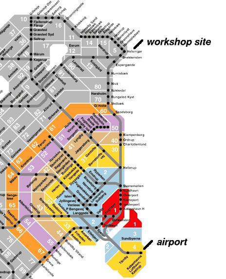 dsb zoner københavn